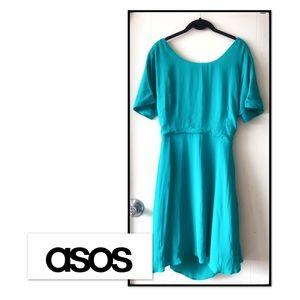 Green Teal Summer Casual Dress
